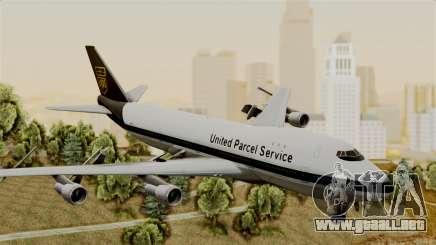 Boeing 747-100 UPS Old para GTA San Andreas