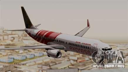 Boeing 737-800 Air India Express para GTA San Andreas