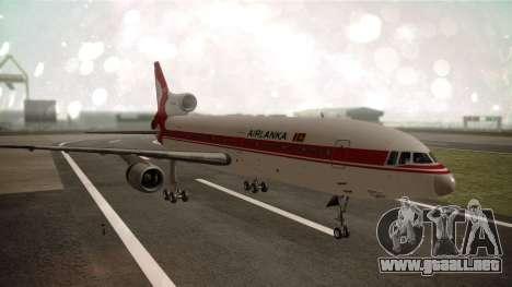 Lockheed L-1011 Air Lanka para GTA San Andreas