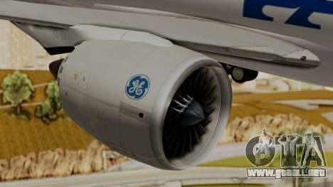 Boeing 787-9 Pan AM para la visión correcta GTA San Andreas