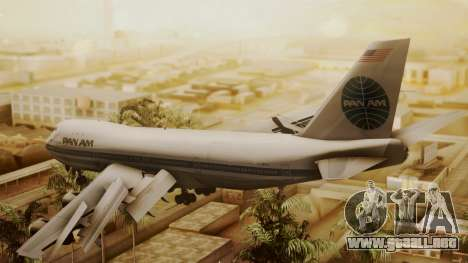 Boeing 747-100 Pan Am Clipper Maid of the Seas para GTA San Andreas left