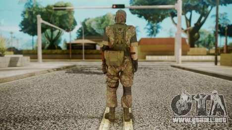 Venom Snake Woodland para GTA San Andreas tercera pantalla