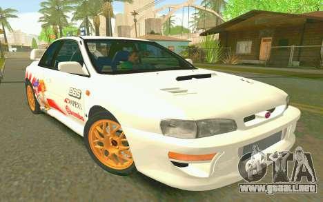 Subaru Impreza 22B STI - Itasha para GTA San Andreas