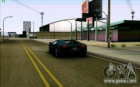 Lamborghini Aventador LP-700 Razer Gaming para vista lateral GTA San Andreas