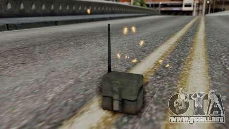Realistic Effects Particles para GTA San Andreas tercera pantalla