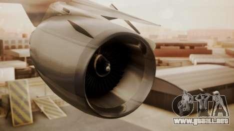 DC-10-10 National Airlines para la visión correcta GTA San Andreas
