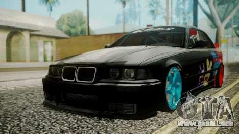 BMW M3 E36 Happy Drift Friends para GTA San Andreas