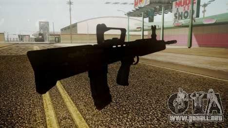L85A2 Battlefield 3 para GTA San Andreas tercera pantalla
