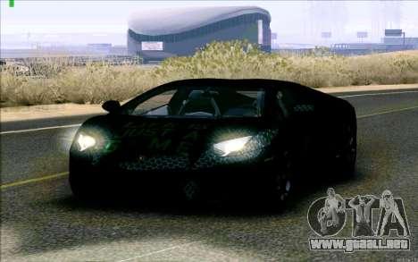 Lamborghini Aventador LP-700 Razer Gaming para GTA San Andreas left