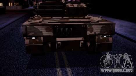 GTA 5 Rhino Tank IVF para la visión correcta GTA San Andreas