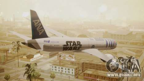 Boeing 787-9 ANA R2D2 para GTA San Andreas left