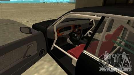 Nissan Cedric Drift para la visión correcta GTA San Andreas