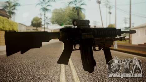 M4 with M26 Mass para GTA San Andreas segunda pantalla