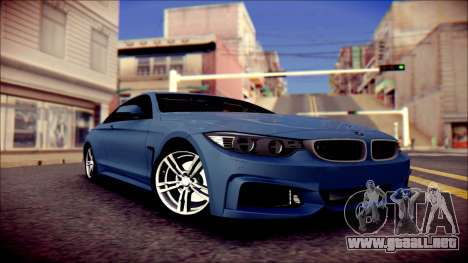 BMW 4 Series Coupe M Sport para GTA San Andreas