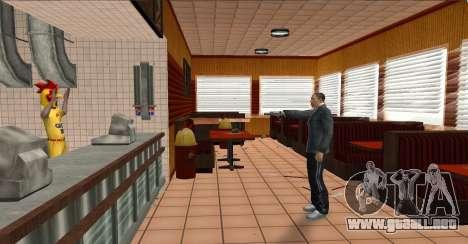 Deagle Styles para GTA San Andreas segunda pantalla