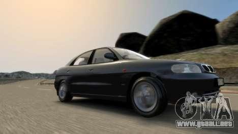 Daewoo Nubira I Hatchback CDX 1997 para GTA 4 vista desde abajo
