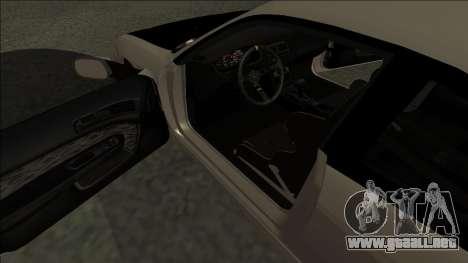 Nissan 200sx Drift JDM para la visión correcta GTA San Andreas