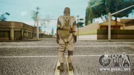 Venom Snake Desert Fox para GTA San Andreas tercera pantalla