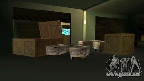 Nuevas texturas de San Fierro para GTA San Andreas segunda pantalla