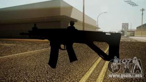 ACW-R Battlefield 3 para GTA San Andreas tercera pantalla