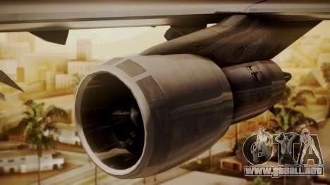 Boeing 747-100 Pan Am Clipper Maid of the Seas para la visión correcta GTA San Andreas