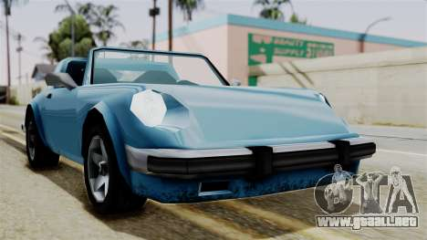 Comet from Vice City Stories para la visión correcta GTA San Andreas