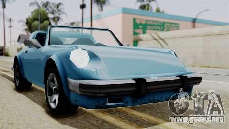 Comet from Vice City Stories para la visión correcta GTA San Andreas