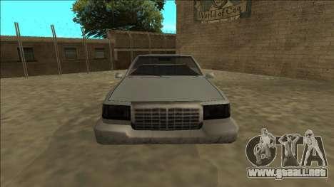 Stretch Sedan Cabrio para la visión correcta GTA San Andreas