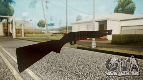 Shotgun by catfromnesbox para GTA San Andreas tercera pantalla