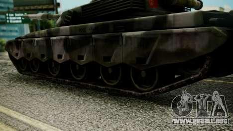 Type 99 from Mercenaries 2 para GTA San Andreas vista posterior izquierda