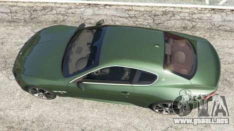 GTA 5 Maserati GranTurismo S 2010 vista trasera