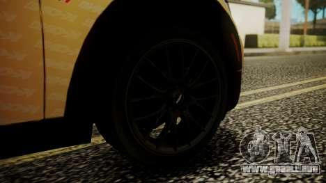 Mini Cooper Clubman 2011 K-ON Ritsu Itasha para GTA San Andreas vista posterior izquierda