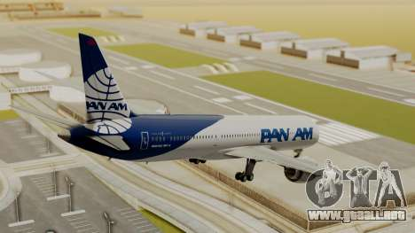 Boeing 787-9 Pan AM para GTA San Andreas left