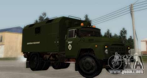 ZIL-130 de Agua de Emergencia para GTA San Andreas