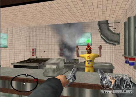 Deagle Styles para GTA San Andreas tercera pantalla