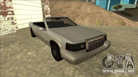 Stretch Sedan Cabrio para GTA San Andreas left