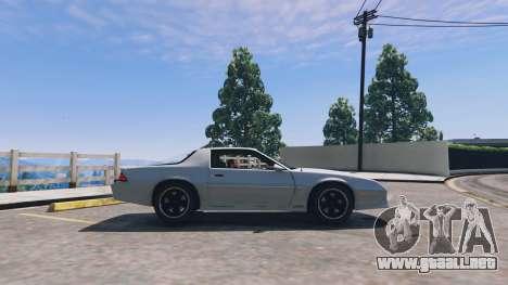 Chevrolet Camaro IROC-Z [BETA] para GTA 5