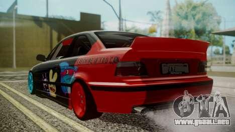 BMW M3 E36 Happy Drift Friends para GTA San Andreas left