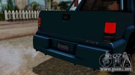 Syndicate Criminal (Cavalcade FXT) from SR3 para la visión correcta GTA San Andreas