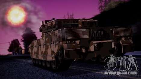 GTA 5 Rhino Tank IVF para GTA San Andreas left