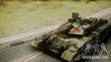 Type 99 from Mercenaries 2 para la visión correcta GTA San Andreas