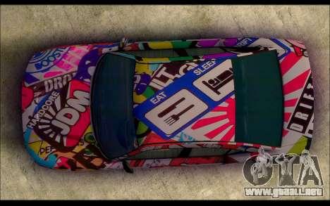 Bravado Buffalo Sticker Bom para la visión correcta GTA San Andreas