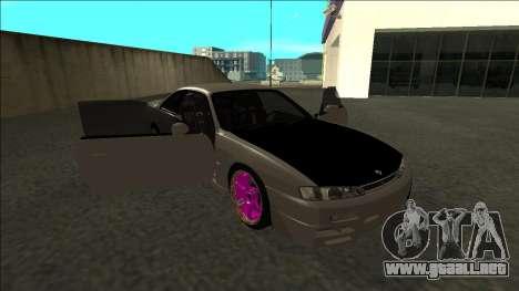 Nissan 200sx Drift JDM para vista lateral GTA San Andreas