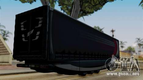 Aero Dynamic Trailer Stock para GTA San Andreas left
