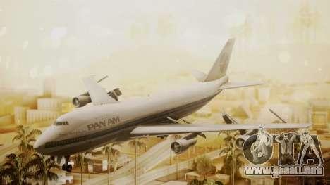 Boeing 747-100 Pan Am Clipper Maid of the Seas para GTA San Andreas