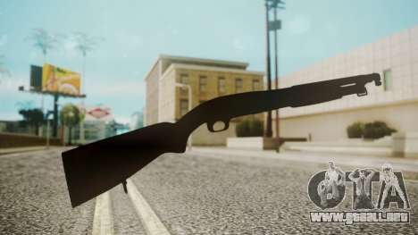 Winchester M1912 para GTA San Andreas tercera pantalla