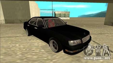 Nissan Cedric Drift para GTA San Andreas left