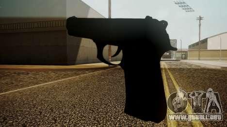 Beretta M9 Battlefield 3 para GTA San Andreas segunda pantalla