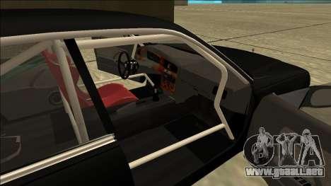 Nissan Cedric Drift para GTA San Andreas vista posterior izquierda