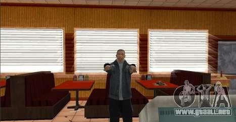 Deagle Styles para GTA San Andreas